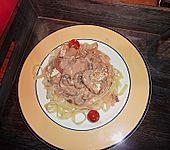 Schweinemedaillons mit Feta (Bild)