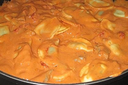 Kalbsgeschnetzeltes in Tomaten-Rahm 5