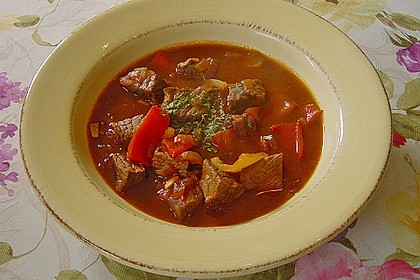 Gulaschsuppe ohne Kohlenhydrate 4