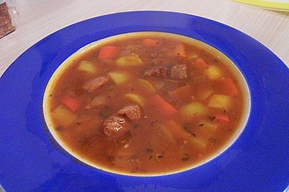Gulaschsuppe ohne Kohlenhydrate 8