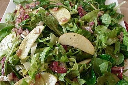 Apfel-Endivien-Salat mit Senfdressing 2
