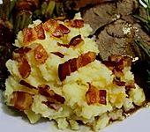 Kartoffelstampf mit Speck