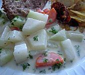 Möhren-Kohlrabi-Sahne Gemüse (Bild)