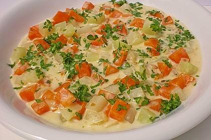 Möhren-Kohlrabi-Sahne-Gemüse