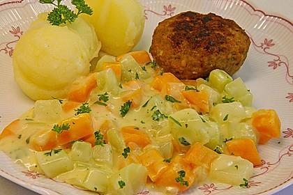 Möhren-Kohlrabi-Sahne-Gemüse 7