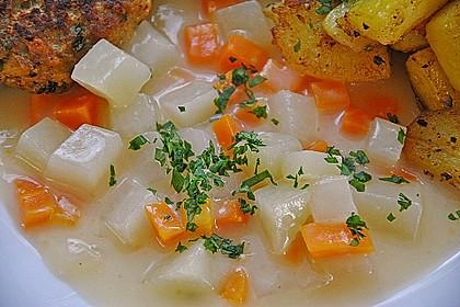 Möhren-Kohlrabi-Sahne-Gemüse 1