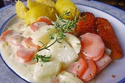 Möhren-Kohlrabi-Sahne-Gemüse 9