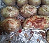 Überbackene Kartoffeln mit Feta