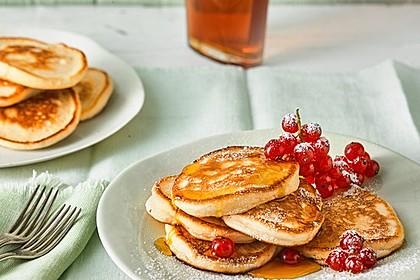Pancakes mit Buttermilch - super luftig