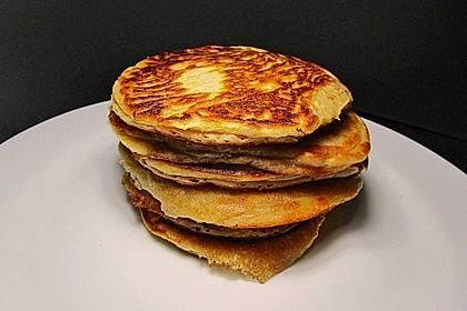 Pancakes mit Buttermilch - super luftig 11