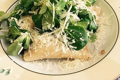 Ravioli, gefüllt mit Ricotta und Ziegenfrischkäse 4