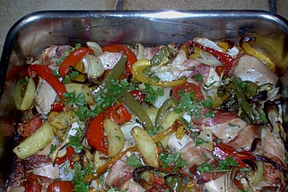 Nicis Hähnchenbrust-Gemüse Blech 50
