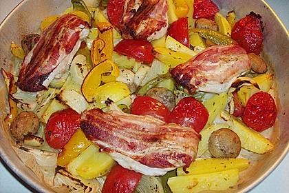 Nicis Hähnchenbrust-Gemüse Blech 10