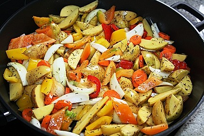 Nicis Hähnchenbrust-Gemüse Blech 14
