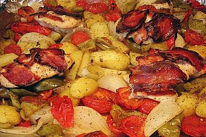 Nicis Hähnchenbrust-Gemüse Blech 16