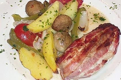Nicis Hähnchenbrust-Gemüse Blech 36
