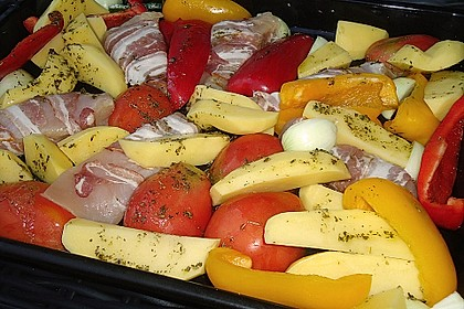 Nicis Hähnchenbrust-Gemüse Blech 12