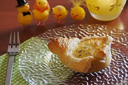 Blätterteig Eiertörtchen 1