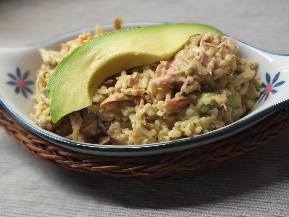 Avocado Thunfischsalat