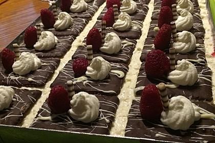 Himbeer-Keks-Schnitten 4