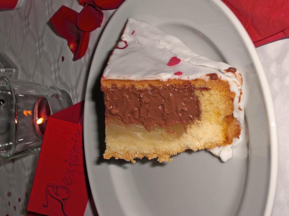 mousse au chocolat birnen torte nach marlies 39 rezept. Black Bedroom Furniture Sets. Home Design Ideas