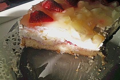 Ananas-Käse Torte