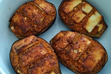 Auberginen gefüllt mit orientalischem Couscous 9
