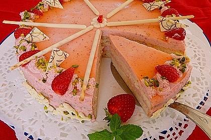 Erdbeer-Sahnetorte mit Aperol Spritz 2