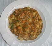 Würziger Möhreneintopf mit Hackfleisch (Bild)
