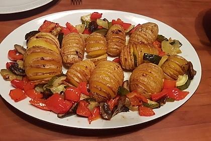 Catharinas Ofenkartoffeln nach Fiefhusener Art mit Kräuterquark 5
