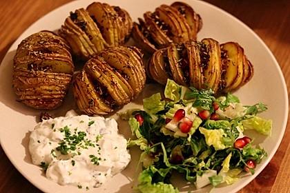 Catharinas Ofenkartoffeln nach Fiefhusener Art mit Kräuterquark 3