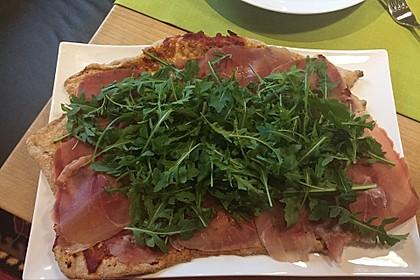 Zucchini-Tomaten-Vollkornpizza 2