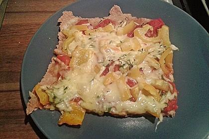 Zucchini-Tomaten-Vollkornpizza 5