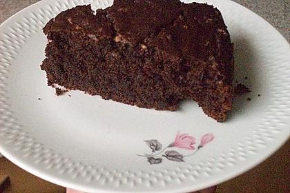 Veganer Schokoladenkuchen 11
