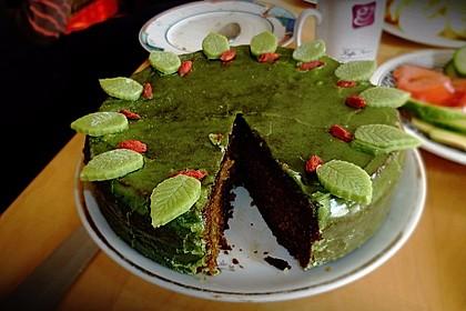 Veganer Schokoladenkuchen 14