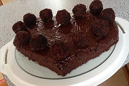 Veganer Schokoladenkuchen 9