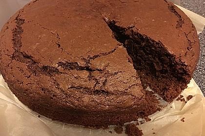 Veganer Schokoladenkuchen 3
