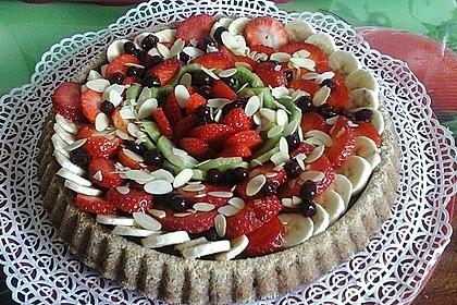 Veganer Schokoladenkuchen 12