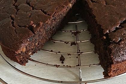 Veganer Schokoladenkuchen 7
