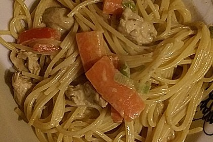Puten-Spaghetti Pfanne 1