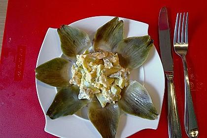 Artischocken-Eiersalat 1