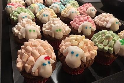 Cupcake-Schafe mit Marshmallow-Frosting 186