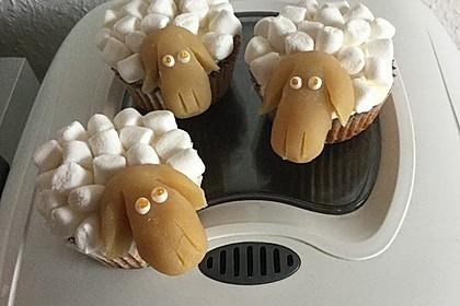 Cupcake-Schafe mit Marshmallow-Frosting 86