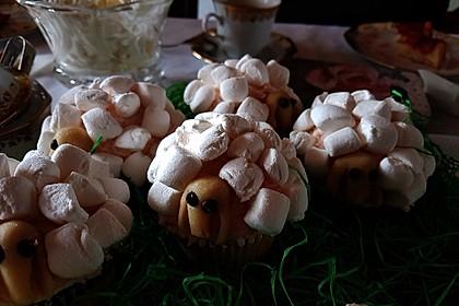 Cupcake-Schafe mit Marshmallow-Frosting 132