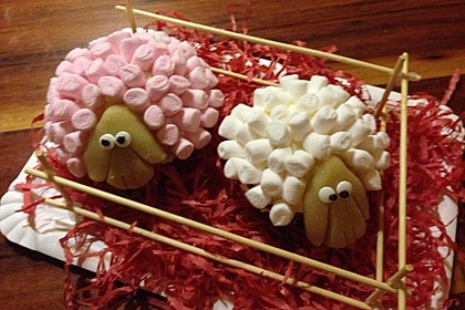 Cupcake-Schafe mit Marshmallow-Frosting 119