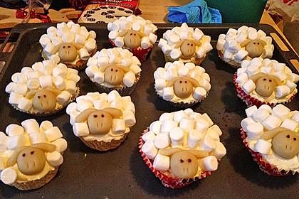 Cupcake-Schafe mit Marshmallow-Frosting 114