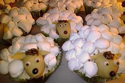 Cupcake-Schafe mit Marshmallow-Frosting 176