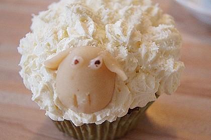 Cupcake-Schafe mit Marshmallow-Frosting 55