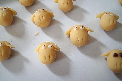 Cupcake-Schafe mit Marshmallow-Frosting 152