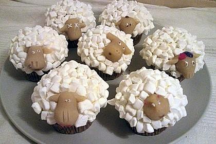 Cupcake-Schafe mit Marshmallow-Frosting 161